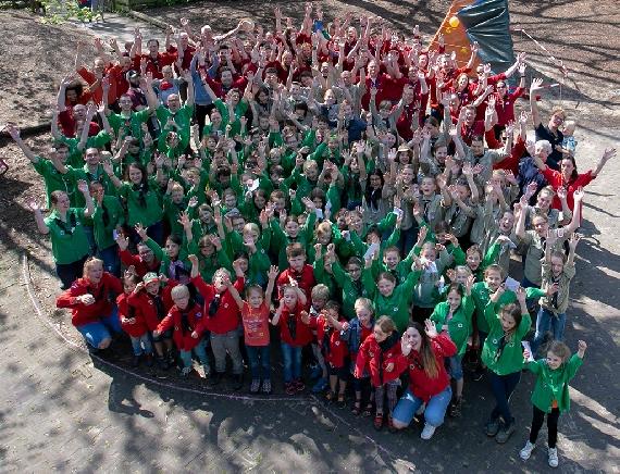 Scouting Ferguson viert 100e verjaardag!