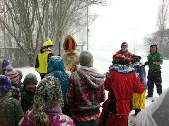 Sinterklaas op de Clan!
